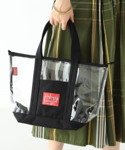 Manhattan Portage × BEAMS BOY / 別注 透色 托特包