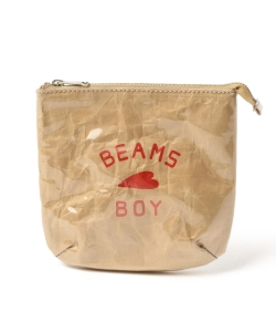 BEAMS BOY / 女装 BB LOGO小包
