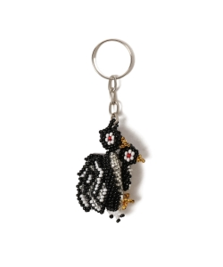 TIME WILL TELL WORKS / BEADED KEY HOLDER