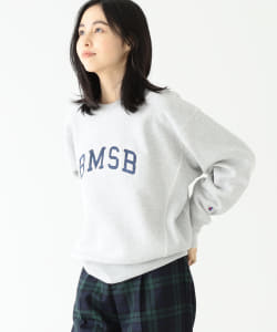 Champion × BEAMS BOY / 女裝 別注 REVERSE WEAVE 衛衣