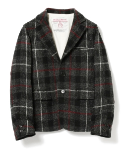 BEAMS BOY / 女裝 Harris Tweed 夾克