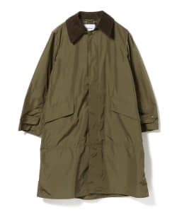 Barbour × BEAMS F / 別注 SINGLE BRESTED シェイプメモリー コート