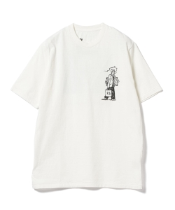 CHRISTOPHER BROWN / H TEE プリントTシャツ