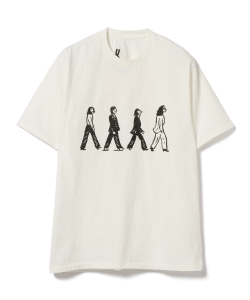 CHRISTOPHER BROWN / B TEE プリントTシャツ