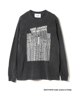 Insonnia Projects / RAGE AGAINST THE MACHINE Tシャツ 302