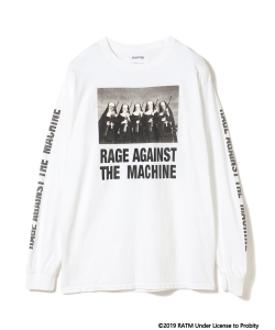 Insonnia Projects / RAGE AGAINST THE MACHINE Tシャツ 303