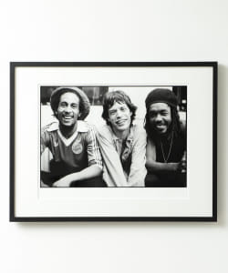 rockarchive / BOB MARLEY, MICK JAGGER, PETER TOSH  Photo by Michael Putland A2サイズ