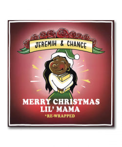 【カラー・ヴァイナル仕様LP】Jeremih & Chance / Merry Christmas Lil'Mama <Not On Label>