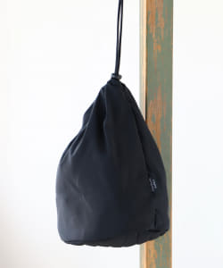 STANDARD SUPPLY × BEAMS / 別注 W DRAW STRING POUCH L