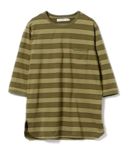 nonnative for B jirushi yoshida(GS)/ 別注DWELLER Q/S TEE COTTON JERSEY BORDER