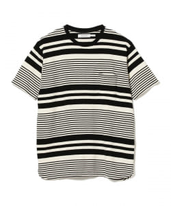 nonnative / DWELLER S/S TEE COTTON JERSEY BORDER