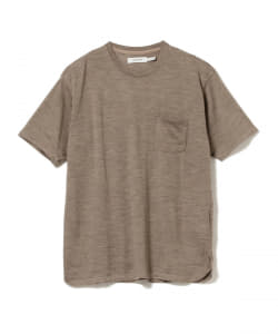 nonnative / DWELLER SHORT SLEEVE TEE WOOL JERSEY Mt.Breath Wool(R)