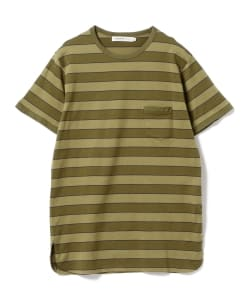 nonnative for B JIRUSHI YOSHIDA(GS)/ 別注DWELLER S/S TEE COTTON JERSEY BORDER