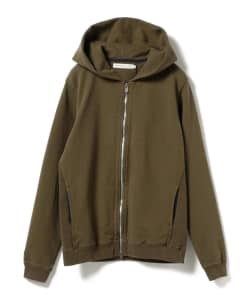 nonnative for B jirushi yoshida(GS)/ 別注COACH FULL ZIP HOODY COTTON SWEAT