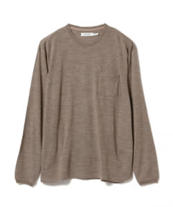nonnative / DWELLER  WOOL JERSEY Mt.Breath Wool(R)