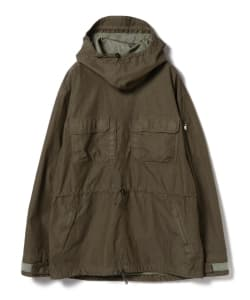 nonnative for B jirushi yoshida(GS)/ 別注HANDYMAN HOODED PULLOVER C/N TUSSAH OVERDYED WITH WINDSTOPPER