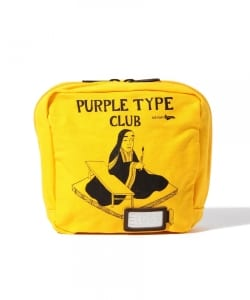 "PORTER × B印 YOSHIDA (GS) / 別注 ""PURPLE TYPE CLUB""ポーチ"
