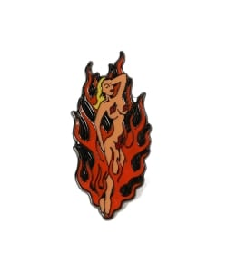 WACKO MARIA / FIRE GIRL PIN BADGE