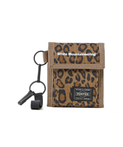 White Mountaineering × PORTER / LEOPARD PRINT WALLET