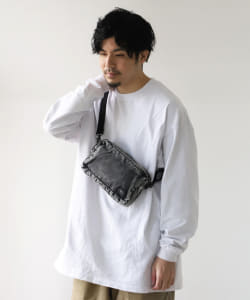 "PORTER × B印 ヨシダ / 別注 ""TEHRAN"" CHEMICAL WASH SHOULDER BAG"