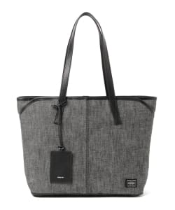 PORTER / PORTER GIRL CLAY TOTE BAG L