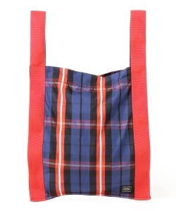White Mountaineering × PORTER / ORIGINAL CHECK PRINTED TOTE BAG