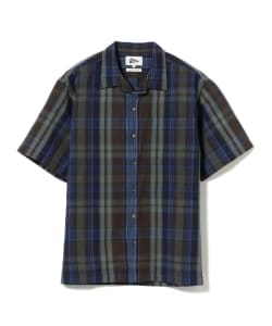 Pilgrim Surf+Supply / Sam Short Sleeve Madras Shirt