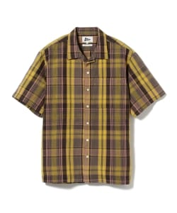 Pilgrim Surf+Supply / Sam SS Madras Shirt