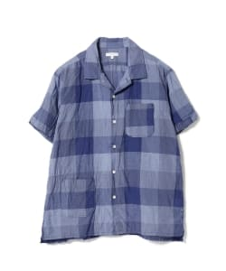 ENGINEERED GARMENTS / Camp Shirt-Block Check CL Lawn