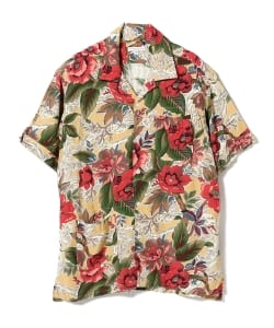ENGINEERED GARMENTS / Camp Shirt - Hawaiian Rayon Floral