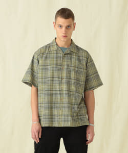 【予約】Pilgrim Surf+Supply / Sam SS Plaid Summer Wool Shirt