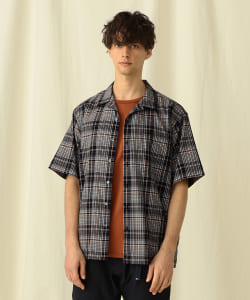 Pilgrim Surf+Supply / Sam SS Plaid Summer Wool Shirt