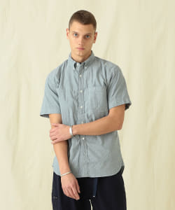 Pilgrim Surf+Supply / Trent Button Down SS Oxford Shirt