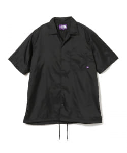 THE NORTH FACE PURPLE LABEL / Nylon Ripstop H/S Shirt