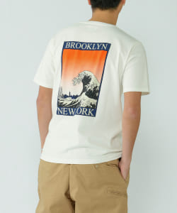 【アウトレット】CAL O LINE × Pilgrim Surf+Supply / BROOKLYN Tee