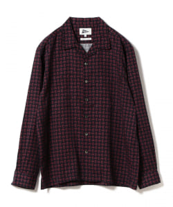 【アウトレット】Pilgrim Surf+Supply / VINCENT LS Printed Paisley Shirt