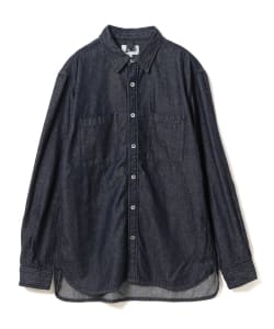 Pilgrim Surf+Supply / Payne Indigo denim Work Shir