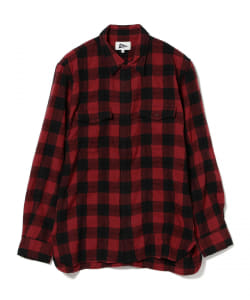【アウトレット】Pilgrim Surf+Supply / Meyer Western Check Shirt