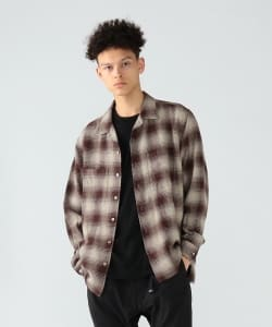 Pilgrim Surf+Supply / Vincent Ombre Plaid Shirt