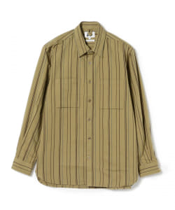 【アウトレット】Pilgrim Surf+Supply / TRENT BUTTON DOWN STRIPE SHIRT