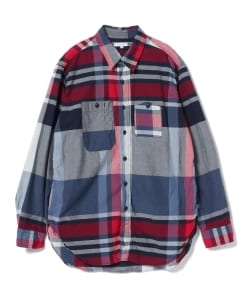 ENGINEERED GARMENTS / Work Shirt (Big Plaid Madras)