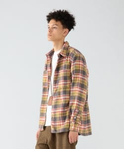 【予約】Pilgrim Surf+Supply / PAYNE PLAID WORK SHIRT