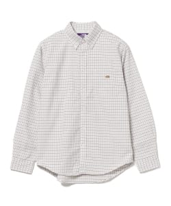 THE NORTH FACE PURPLE LABEL / OX Check B.D. Shirt