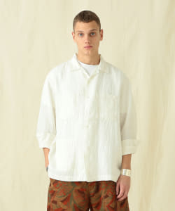 【予約】Pilgrim Surf+Supply / Vincent Linen Shirt
