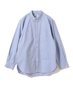 【予約】Pilgrim Surf+Supply / Bubbie Button Down BK Oxford Shirt