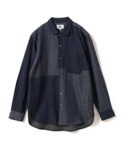 【予約】Pilgrim Surf+Supply / Atlas Patchwork Shirt