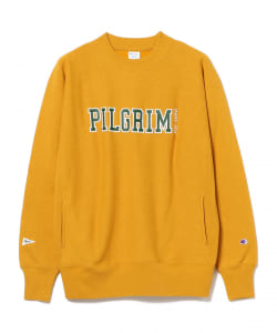 【アウトレット】<MEN>Champion × Pilgrim Surf+Supply / Print Mock Sweatshirt
