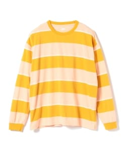 【アウトレット】Pilgrim Surf+Supply / Long Sleeve Stripe Tee
