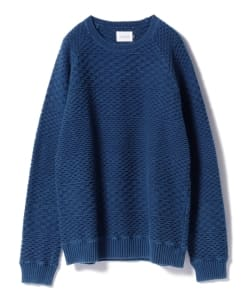 CAL O LINE for Pilgrim Surf+Supply / Jaquard Cable Crew Neck