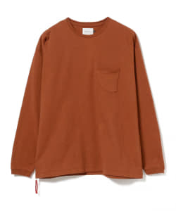 CAL O LINE for Pilgrim Surf+Supply / Beads pocket L/S T